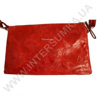 Заказать Клатч женский из натуральной кожи Diamond 1195 красный в Intersumka.ua