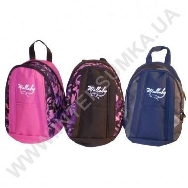 Заказать рюкзак молодежный 2 лямки 2 отд Wallaby 154