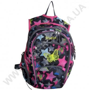 Заказать рюкзак молодежный Wallaby 155 с вышивкой
