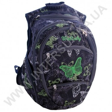 Заказать рюкзак молодежный Wallaby 155-3 с вышивкой в Intersumka.ua