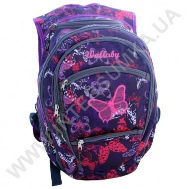Заказать рюкзак молодежный Wallaby 155-2 с вышивкой в Intersumka.ua