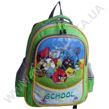 Заказать рюкзак детский SCHOOL с ортопедической спинкой 158birds_rio на 2 отдела