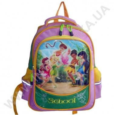 Заказать рюкзак детский SCHOOL с ортопедической спинкой 158fairies на 2 отдела