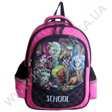 Заказать рюкзак детский SCHOOL с ортопедической спинкой 158monster на 2 отдела