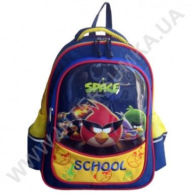 Заказать рюкзак детский SCHOOL с ортопедической спинкой 158birds_space на 2 отдела