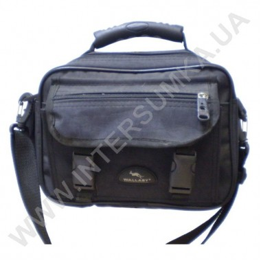 Заказать сумка-барсетка с клапаном Wallaby 2427 черная в Intersumka.ua