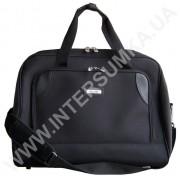 Купить сумка дорожная на пене Wallaby 2556 с отделением для обуви формовочная черная