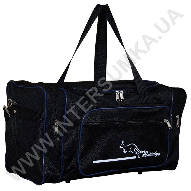 ... Купить сумка спортивная малая Wallaby 2686 черн-синій bb12ab4763c20