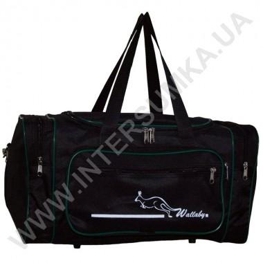 Заказать сумка спортивная малая Wallaby 2686 черн-зеленый в Intersumka.ua