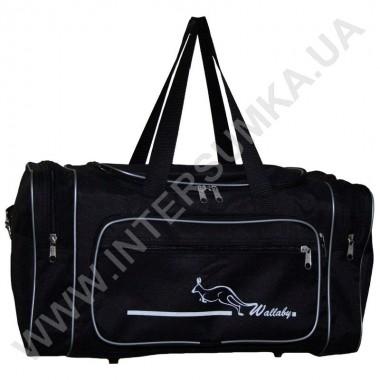 Заказать сумка спортивная малая Wallaby 2686 черн-серебро в Intersumka.ua