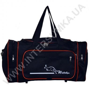 Заказать сумка спортивная малая Wallaby 2686 черн-оранжевый