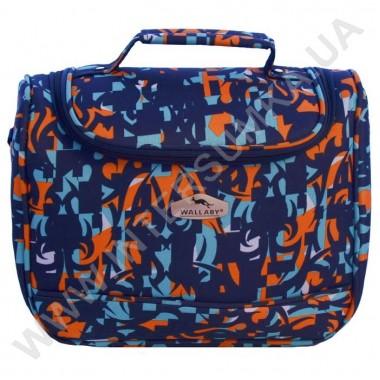 Заказать бьюти-кейс Wallaby 2690В синяя абстракция