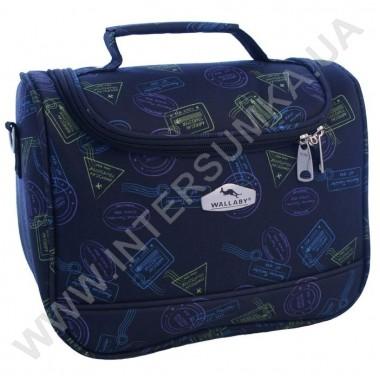 Заказать бьюти-кейс Wallaby 2690В синий штамп