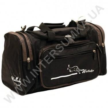 Заказать сумка спортивная малая Wallaby 270 черный-хаки в Intersumka.ua
