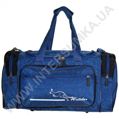 Заказать сумка спортивная малая Wallaby 270 син-черн