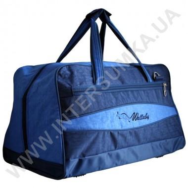 Заказать сумка дорожная Wallaby 317 синяя с голубыми вставками