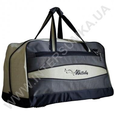 Заказать сумка дорожная Wallaby 317 хаки со вставками цвета оливка