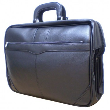 Заказать портфель-чемодан 3 отд,с чехлом для ноутбука Wallaby 3604
