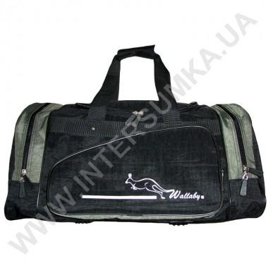 Заказать сумка спортивная Wallaby 371 черн-хаки в Intersumka.ua