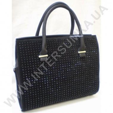 Заказать сумка женская Wallaby 552 замшевая со стразами (камнями)