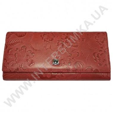 Заказать кошелёк женский большой, монетница наружная, замок HASSION 72031-3-18202red