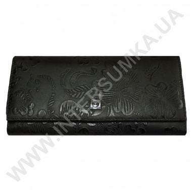 Заказать кошелёк женский большой, монетница наружная, замок HASSION 72031-3-18203black