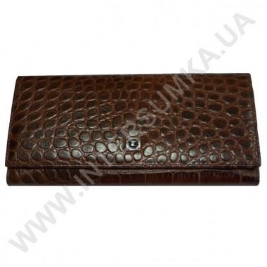 Заказать кошелёк женский большой, монетница наружная, замок HASSION 72031-3-22306coffee