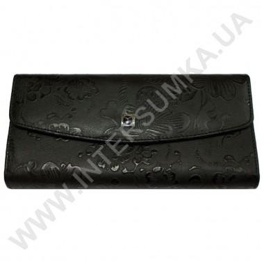 Заказать кошелёк женский большой, монетница внутренняя, замок Hassion 72504-4-18203black