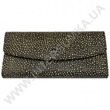 Заказать кошелёк женский большой, монетница внутренняя, замок-поцелуй Hassion 72504-4-18501