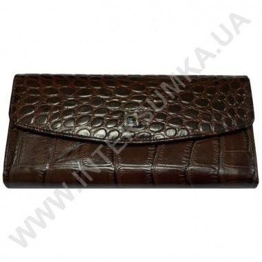 Заказать кошелёк женский большой, монетница внутренняя, замок Hassion 72504-4-22306coffee