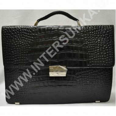 Заказать портфель кожаный Diamond 9091-1