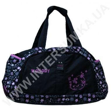 Заказать Сумка дорожная розовая вышивка Wallaby DK738