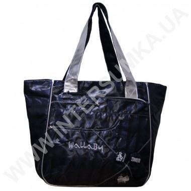 Заказать сумка молодёжная объёмная, отделка-серебро Wallaby DN474
