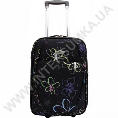 Заказать чемодан средний Wallaby M08141/24 (68 литров) черный с рисунком