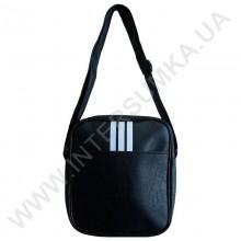 Мужская сумка (барсетка) молодежная три полосы на одно отделение Wallaby 223158