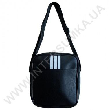 Заказать Мужская сумка (барсетка) молодежная три полосы на одно отделение Wallaby 223158