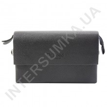 барсетка горизонтальная (клатч, портмоне) из кожзама DrBond 3559-2 с клапаном