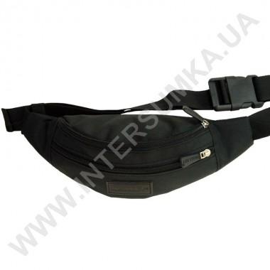 Заказать поясная сумка на 2 отдела Wallaby 2902 чёрная в Intersumka.ua