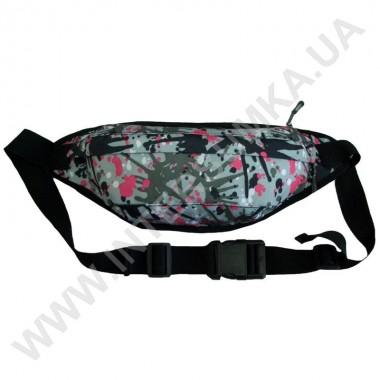 Заказать поясная сумка (бананка, кондукторка) на 2 отдела Wallaby 2903 серая в Intersumka.ua
