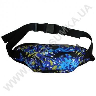 Заказать поясная сумка (бананка, кондукторка) на 2 отдела Wallaby 2903 синяя в Intersumka.ua