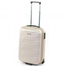 Поликарбонатный чемодан Bumper March малый 0103_gold (34,5 литра)