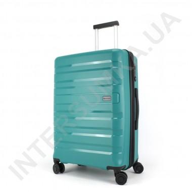 Заказать Полипропиленовый чемодан CONWOOD средний PPT002/24 с расширением зелёный (70/84 литра) в Intersumka.ua
