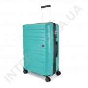 Полипропиленовый чемодан CONWOOD большой PPT002/28 с расширением зелёный (90/108 литров)