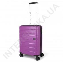Полипропиленовый чемодан CONWOOD малый PPT002/20 с расширением фиолетовый (44/52 литра)