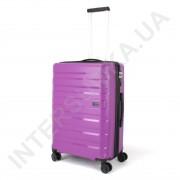 Полипропиленовый чемодан CONWOOD средний PPT002/24 с расширением фиолетовый (70/84 литра)