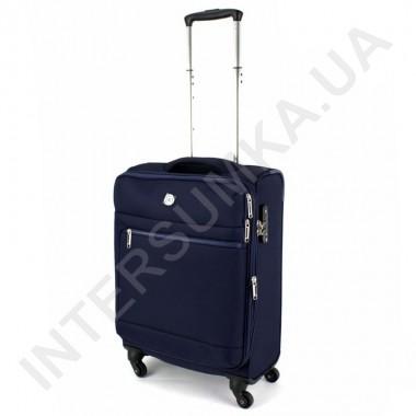 Заказать Чемодан тканевый малый CONWOOD CT716/20 тёмно-синий с расширением (40/51 литров) в Intersumka.ua