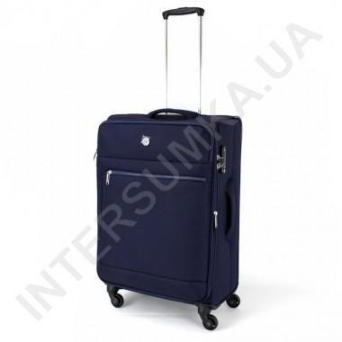 Заказать Чемодан тканевый средний CONWOOD CT716/24 тёмно-синего цвета с расширением (63/77 литров) в Intersumka.ua