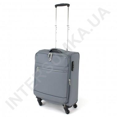Заказать Чемодан тканевый малый CONWOOD CT716/20 серый с расширением (40/51 литров) в Intersumka.ua