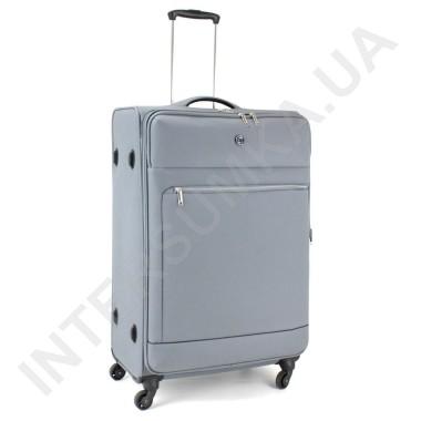 Заказать Чемодан тканевый большой CONWOOD CT716/28 серый с расширением (104/122 литра) в Intersumka.ua
