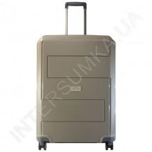 Полипропиленовый чемодан Airtex большой 226/28 бежевый (95 литров)